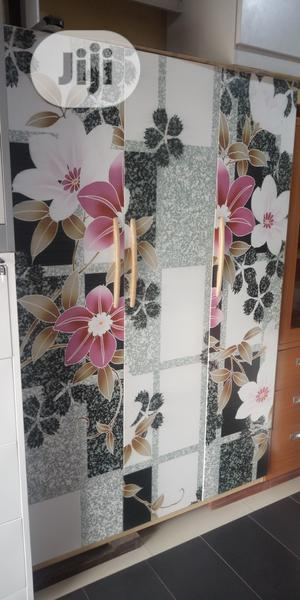 Metal Wardrobes With Mirrow 3 Doors   Furniture for sale in Lagos State, Ojo