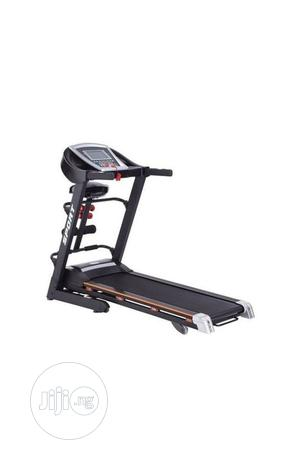 Treadmill 3HP With Massage MP3, Incline,Sit-Up Dumbells | Sports Equipment for sale in Lagos State, Gbagada