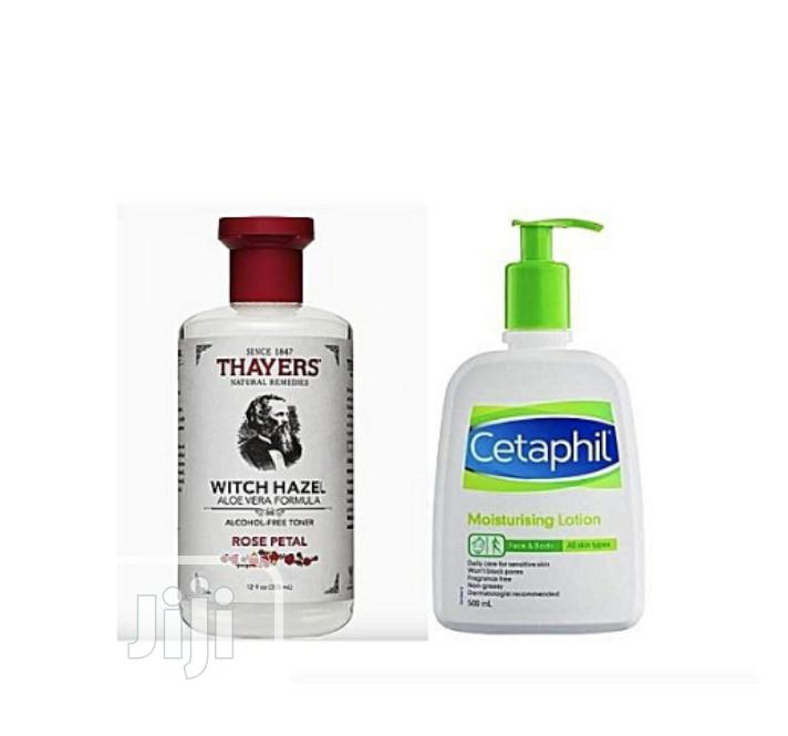 Archive: Cetaphil Lotion and Thayers Witch Hazel Toner Combo