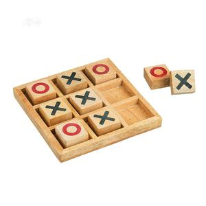 USA 5x5 Wood Tic Tac Toe | Handmade Puzzle Game Red Black XOXO Mini | Books & Games for sale in Lagos State, Alimosho