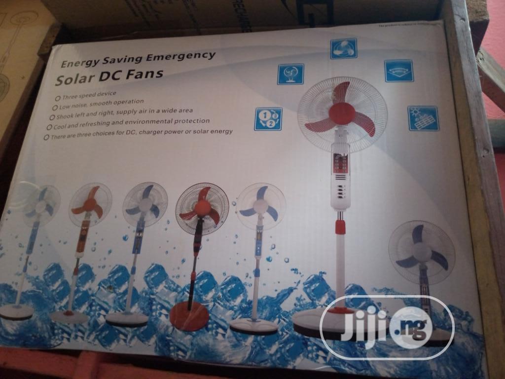 Archive: Original Solar DC Rechargeable Energy AC/DC Fan