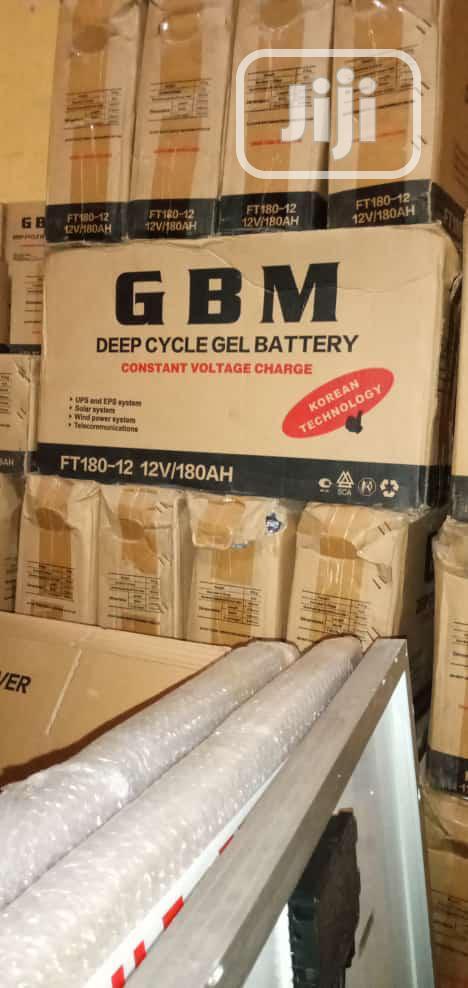 Original 200ah Solar GBM Batteries