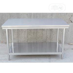 Industrail Stainless Table 4fit | Restaurant & Catering Equipment for sale in Lagos State, Ojo