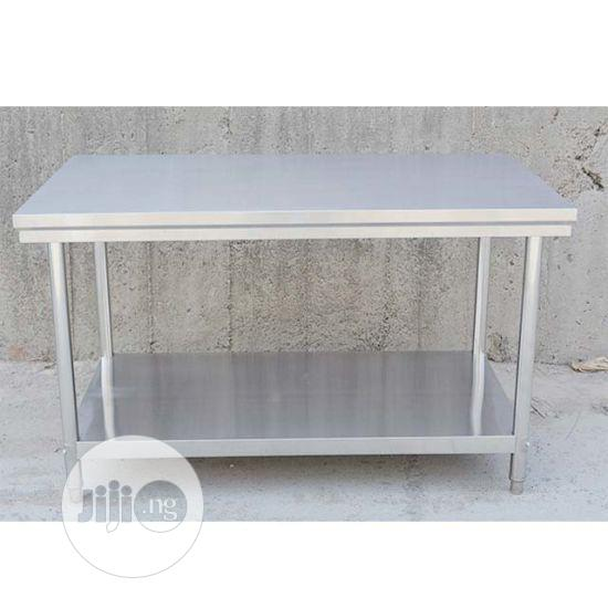 Industrail Stainless Table 4fit