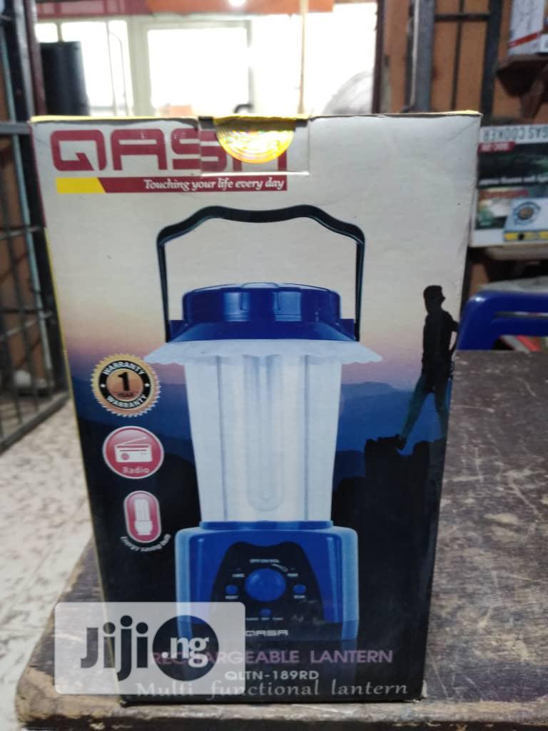 Archive: Qasa Rechargeable Lantern QLTN-189RD