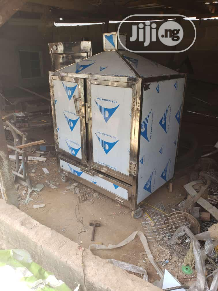 Approved Stainless Steel Fish Smoking Kiln For Exportation