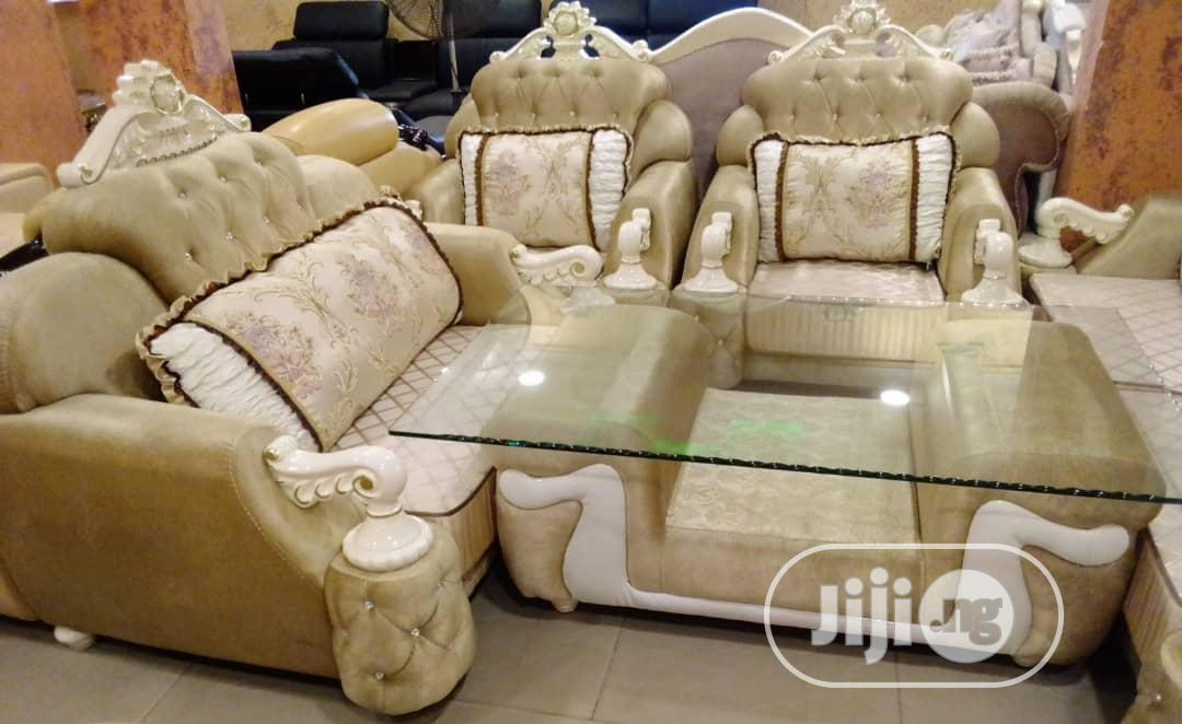Archive: Royal Sofa With Dining Table