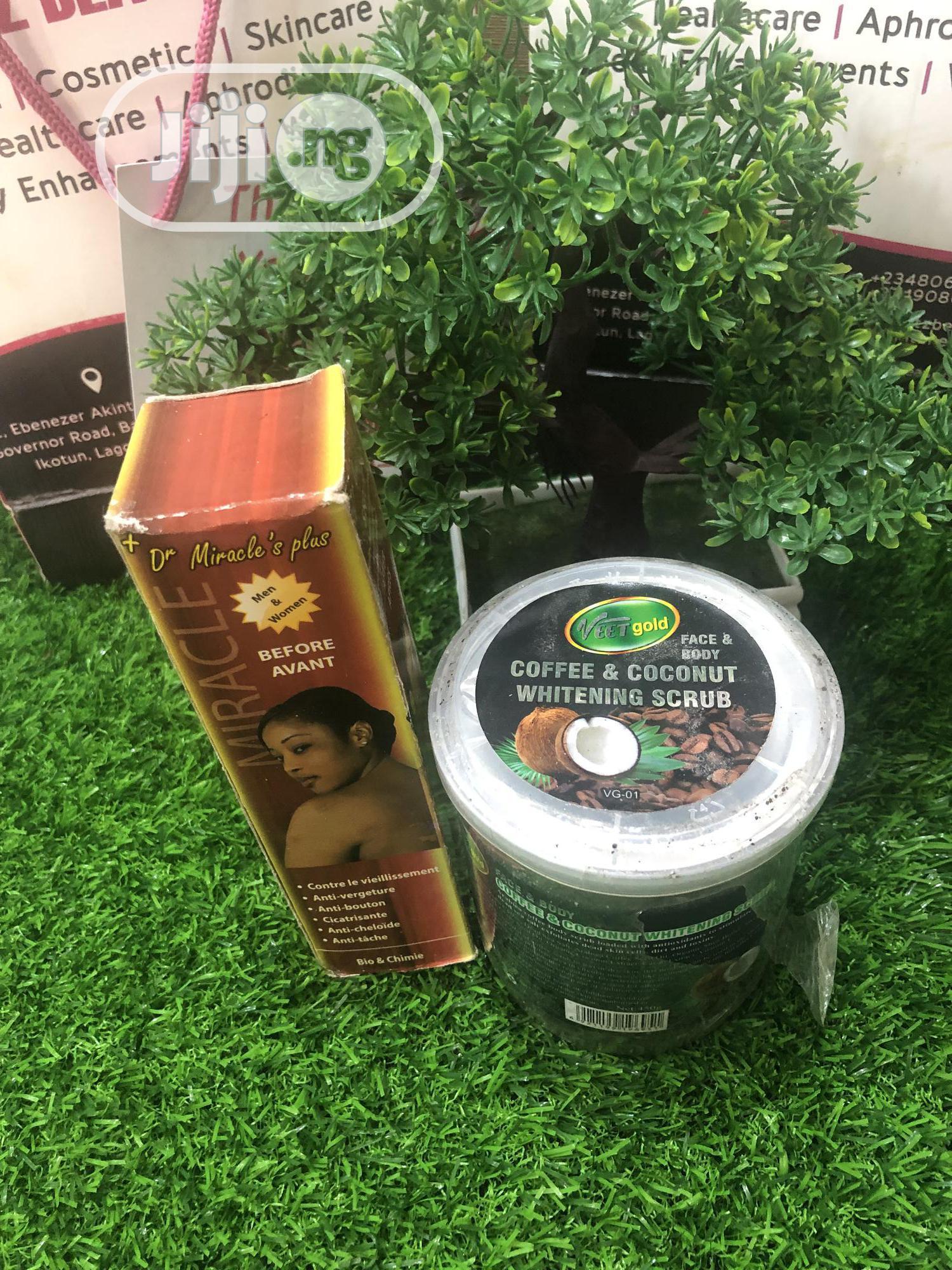 Archive: Dr Miracle Green Vein Oil & Spider Vein Coffee Scrub