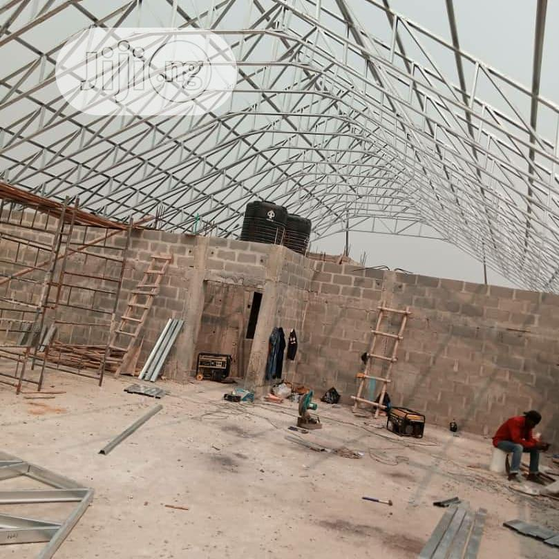 Galvanize Steel Truss And Roofing.