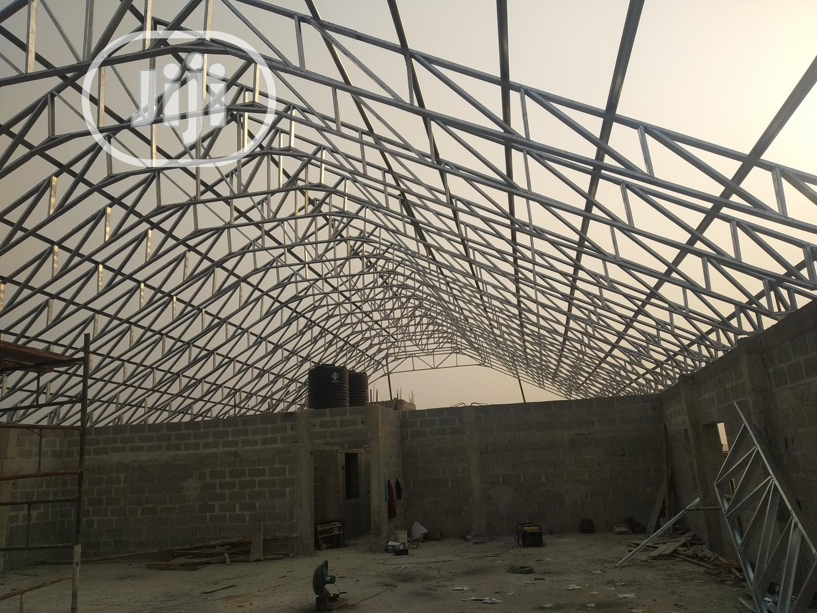 Galvanize Steel Truss And Roofing. | Building & Trades Services for sale in Lekki Phase 2, Lagos State, Nigeria