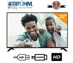 Bruhm 32inch LED Tv + Free Wall Bracket   TV & DVD Equipment for sale in Plateau State, Jos