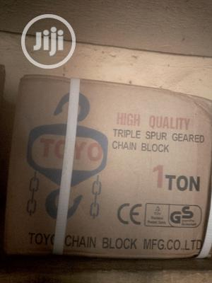1ton X 3m Chain Hoist | Manufacturing Equipment for sale in Rivers State, Port-Harcourt