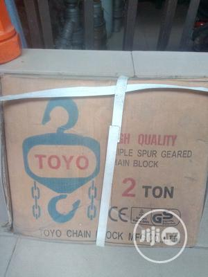 2ton X 3m Chain Hoist | Manufacturing Equipment for sale in Rivers State, Port-Harcourt