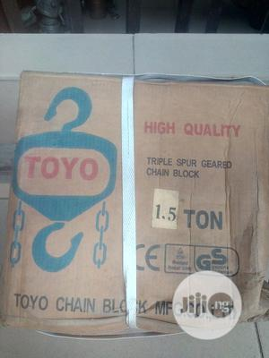 1.5ton X 3m Chain Hoist | Manufacturing Equipment for sale in Rivers State, Port-Harcourt