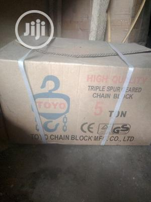 5 Ton X 3m Chain Hoist | Manufacturing Equipment for sale in Rivers State, Port-Harcourt