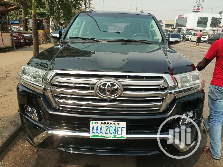 Toyota Land Cruiser 2014 Black