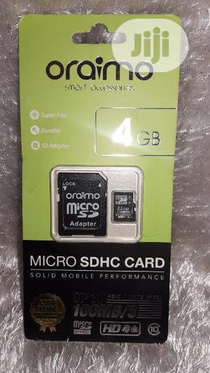 Oraimo 4GB Memory Card Micro SDHC Card - Pack Of 12   Accessories for Mobile Phones & Tablets for sale in Lagos State, Ikotun/Igando