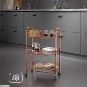 Rose Gold 3 Tier Trolley   Home Accessories for sale in Lagos State, Lagos Island (Eko)