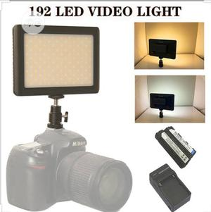192 LED Video Light For Canon Nikon DSLR Camera DV Camcorder | Accessories & Supplies for Electronics for sale in Lagos State, Ikeja