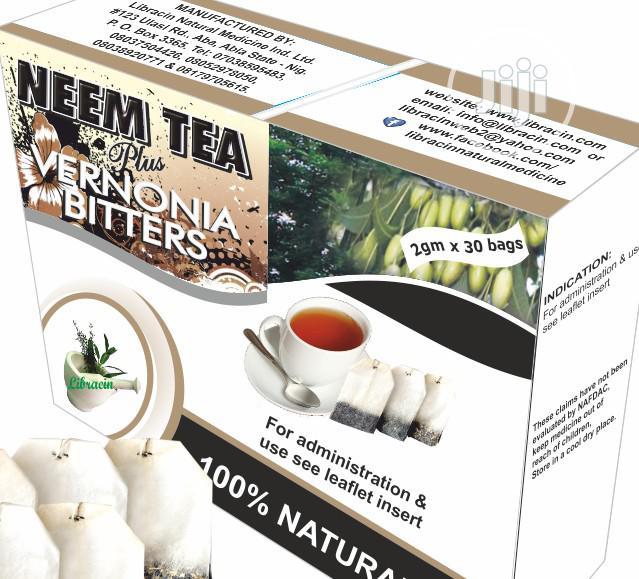 Neem Tea Plus Vernonia Bitters