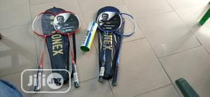 2in1 Yonex Badminton Racket With Shuttle Cock   Sports Equipment for sale in Lagos State, Surulere