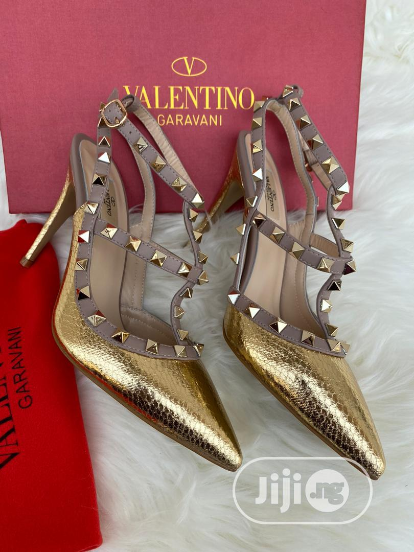 Best Quality Valentino Garavani Designer Female Heels