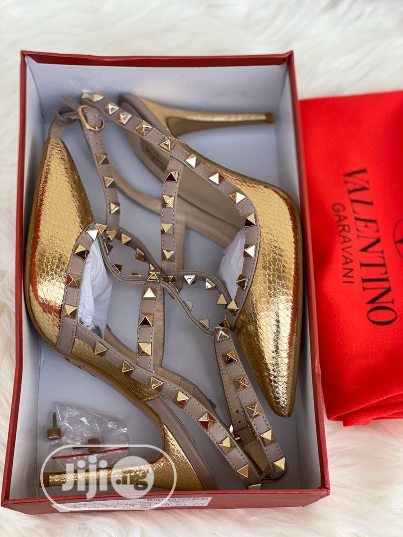 Best Quality Valentino Garavani Designer Female Heels | Shoes for sale in Magodo, Lagos State, Nigeria