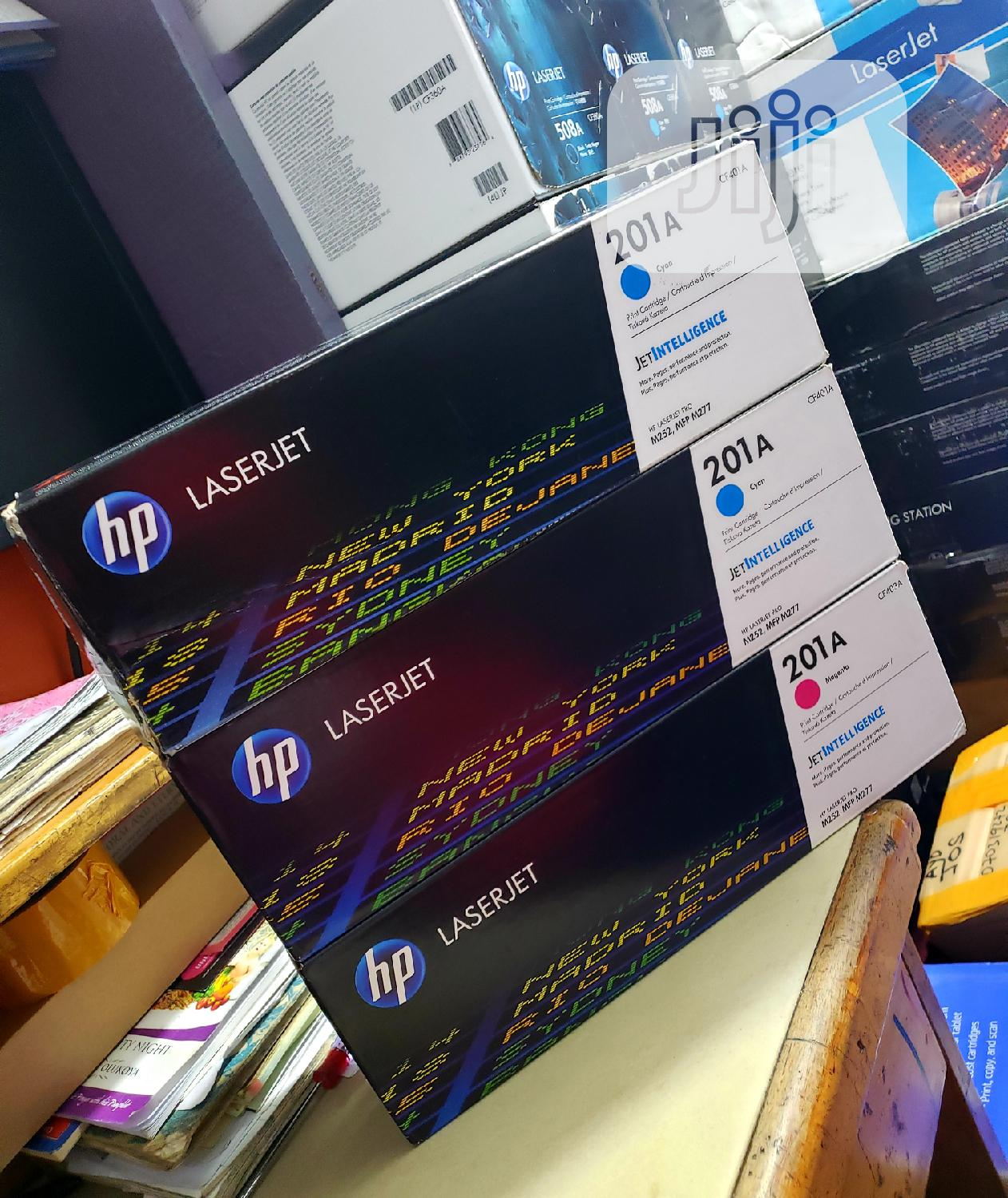 Genuine Hp Toner Cartridge 201a Colors