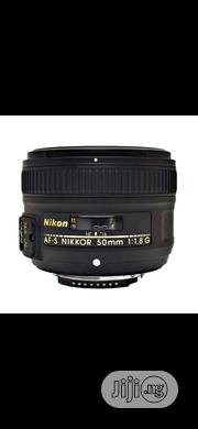 Nikon Lens 50mm 1.8G | Accessories & Supplies for Electronics for sale in Lagos State, Ikeja