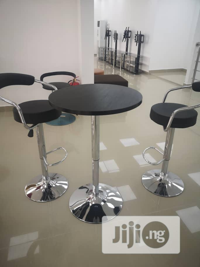 Classic Bar Set Of Table With 2 Bar Chairs