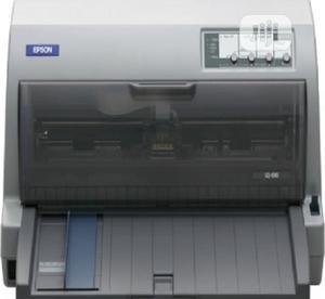 Epson LQ 690 Dot Matrix Printer - White   Printers & Scanners for sale in Lagos State, Ikeja