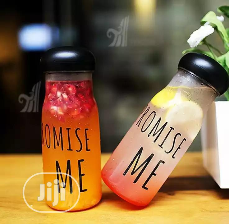 Promise Me Bottle (Bottle + Infuser) - Fruit Infuser Water Bottle | Kitchen & Dining for sale in Lagos Island, Lagos State, Nigeria