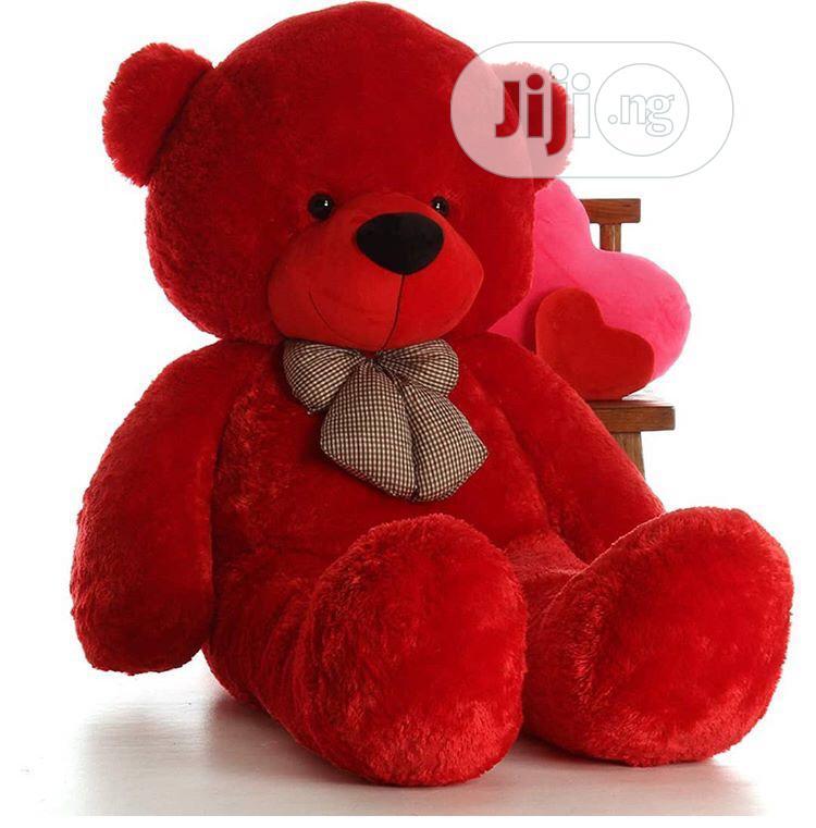 5 Ft Giant Red Teddy Bear