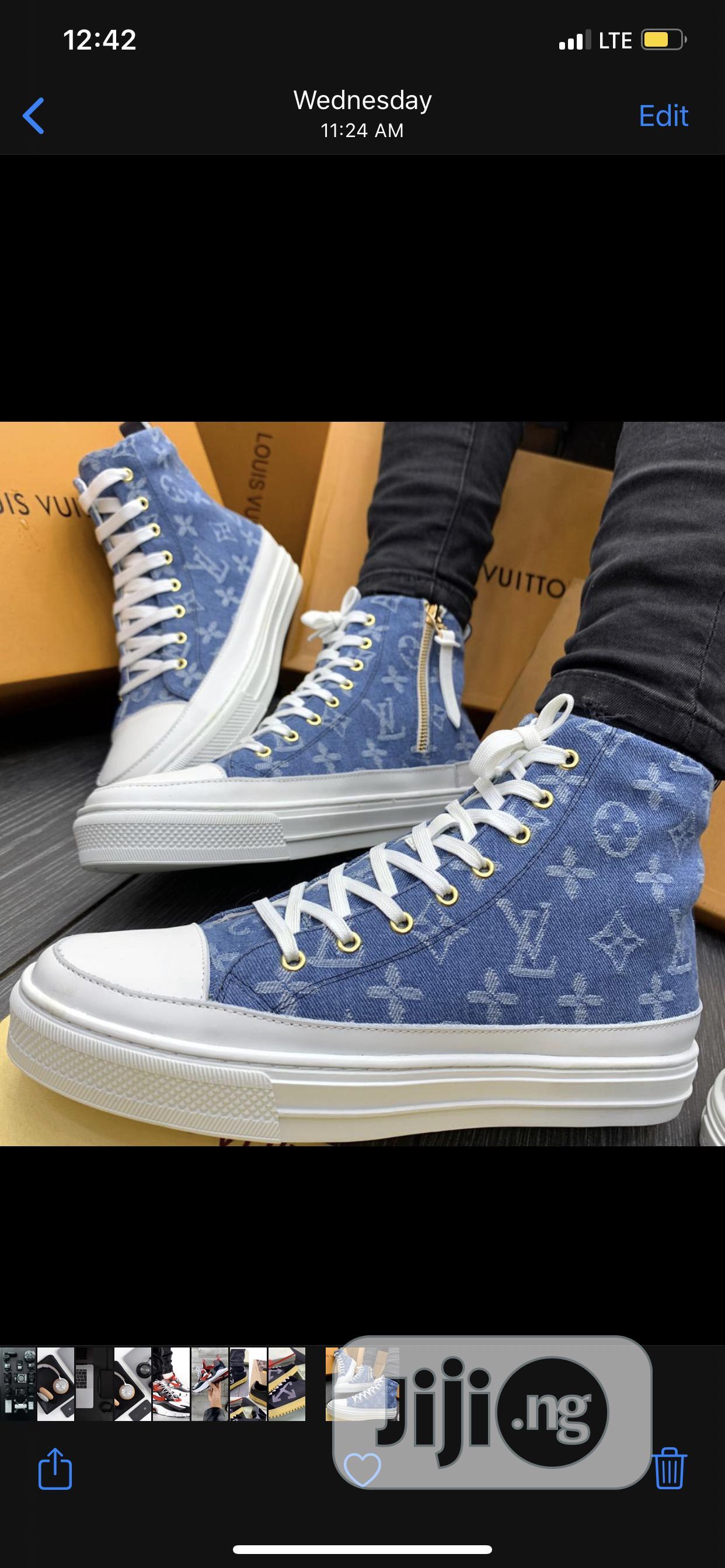 Louis Vuitton Converse High Sneakers