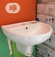 Twyford Option Half Pedestal And Wash Basin | Building Materials for sale in Lagos State, Orile