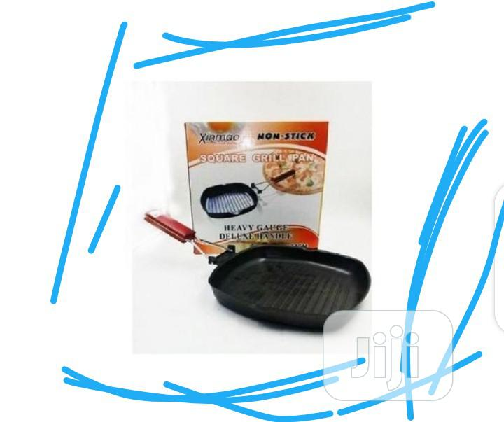 Cleo By Panache - Nonstick Square Grill Pan | Kitchen Appliances for sale in Lagos Island, Lagos State, Nigeria