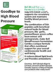 Blood Pressure Formulation Combo - To Regulate Blood Pressur | Vitamins & Supplements for sale in Lagos State, Ikeja