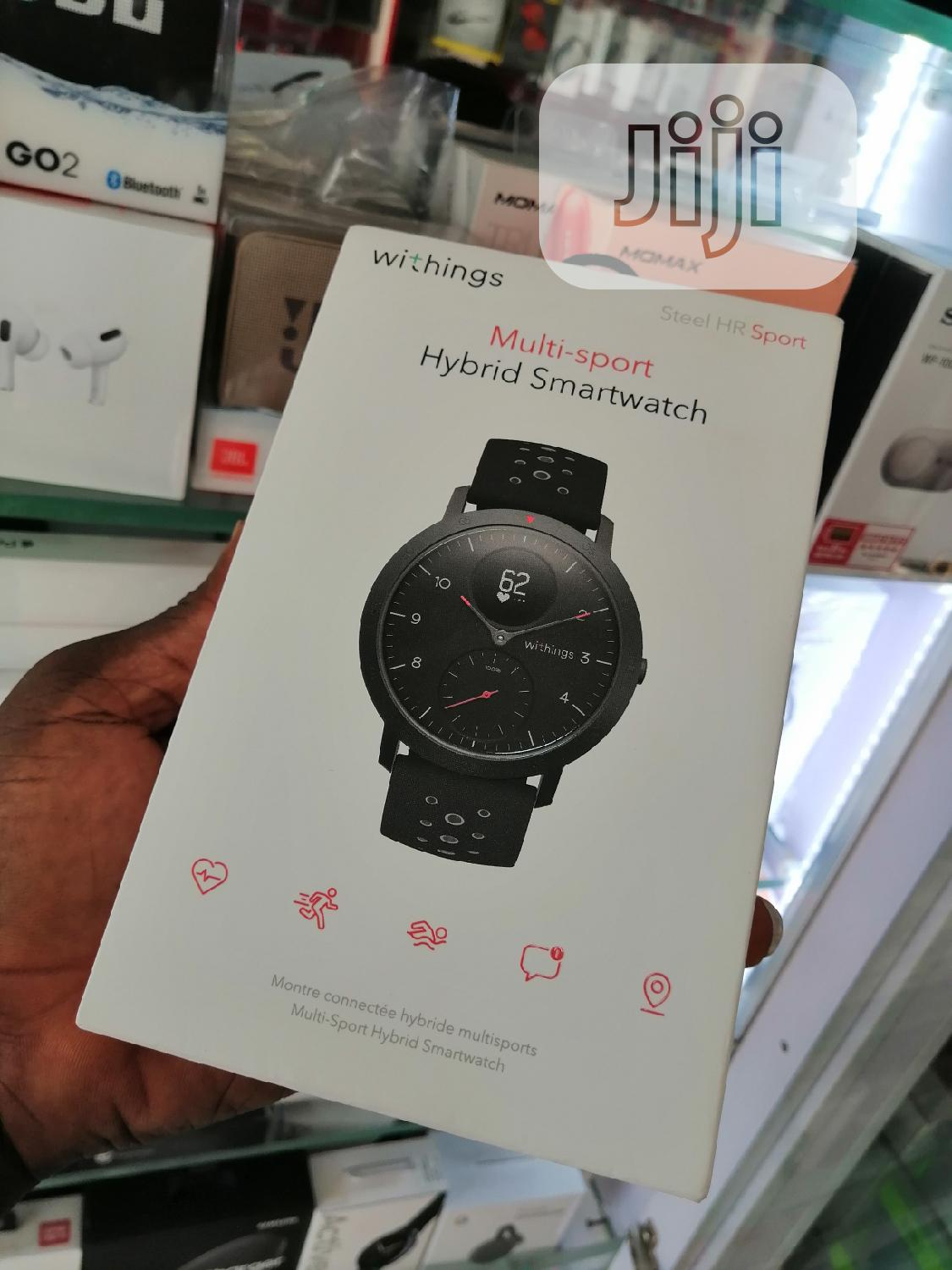 Withthings Multi-sport Smart Watch   Smart Watches & Trackers for sale in Ikeja, Lagos State, Nigeria