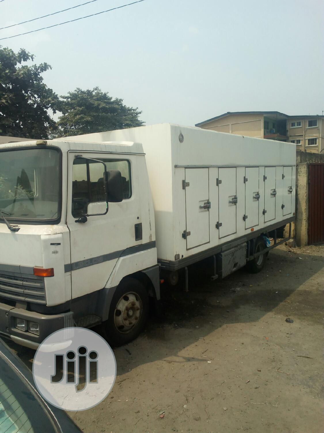 All Mobile Cooling Van For Sale