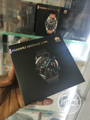Huawei Watch GT 2 46mm Smart Wristwatch Black   Smart Watches & Trackers for sale in Lagos State, Ikeja