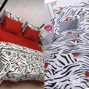 Bedsheet Set With Pillows and Blankets