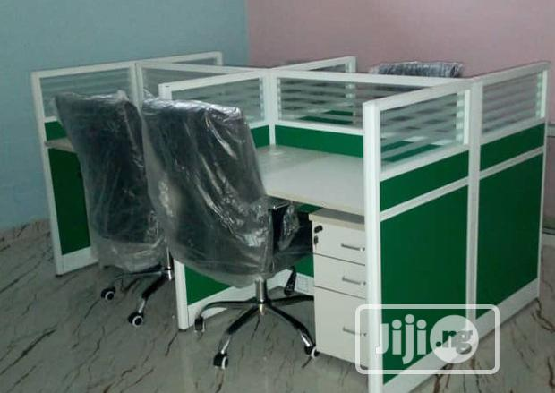 New Quality Four Seaters Workstation Table