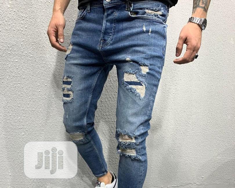 Archive: Ripped Jeans for Unique Men