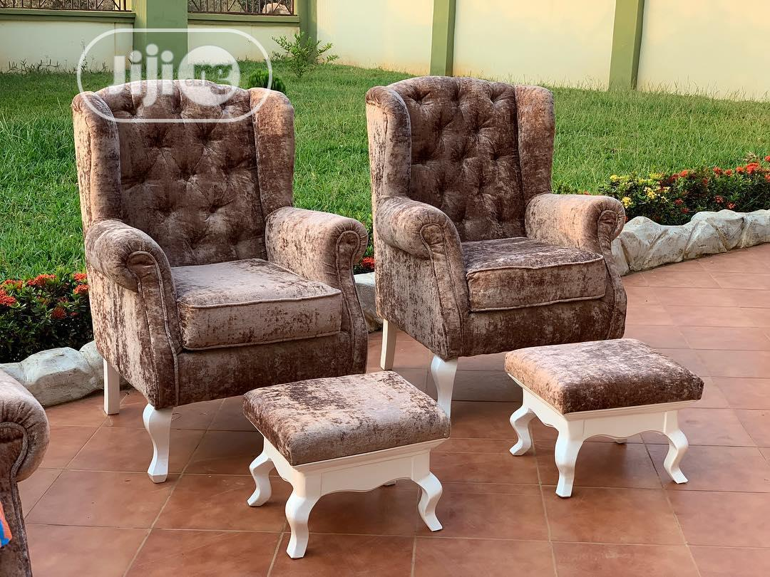Chesterfield Sofa With Stool | Furniture for sale in Maryland, Lagos State, Nigeria