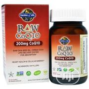 Garden Of Life COQ10 - 200mg With Chia Seed And Omega-3-6-9 | Vitamins & Supplements for sale in Lagos State, Surulere