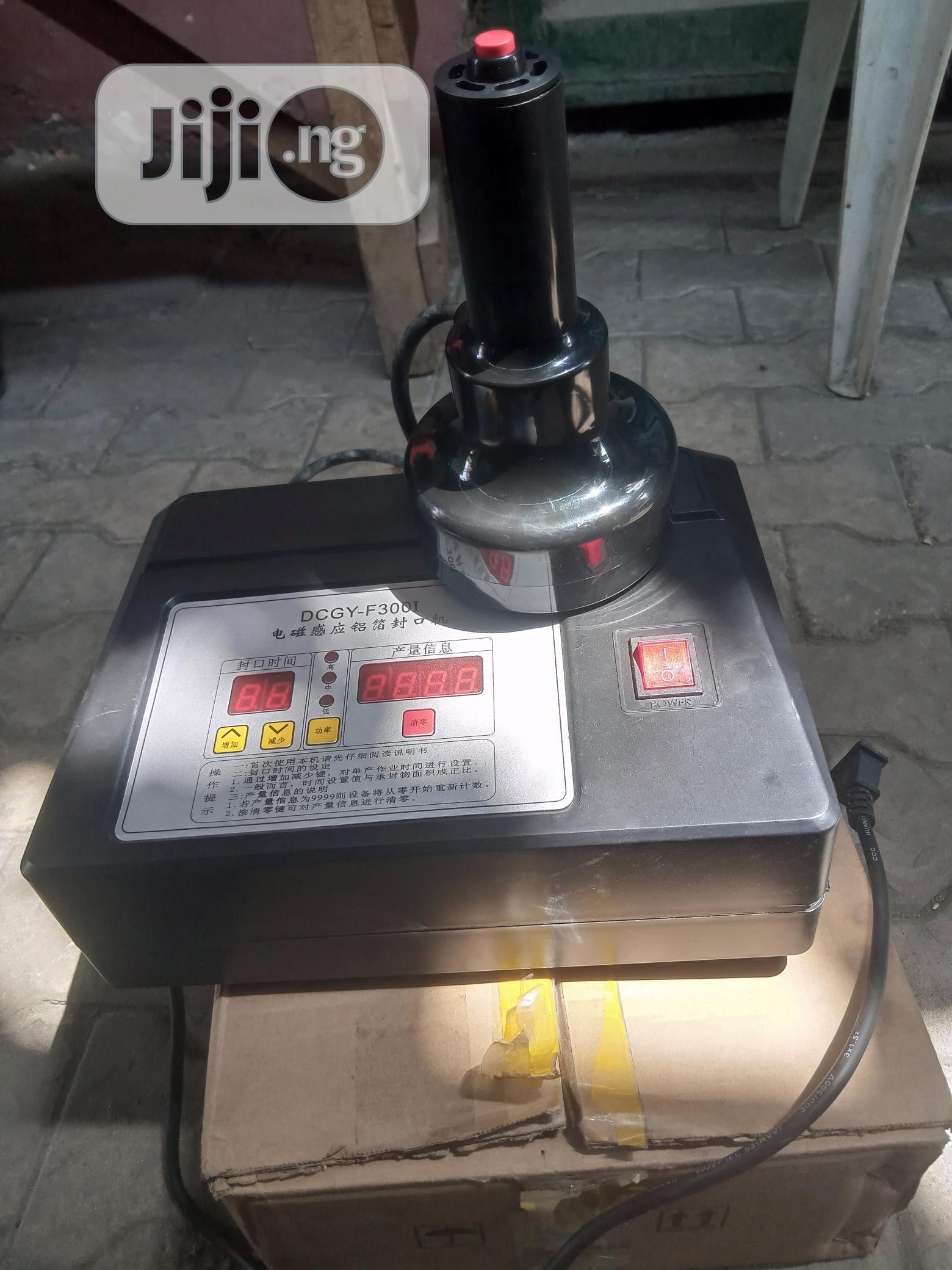 Archive: Foil Sealing Machine Size 300