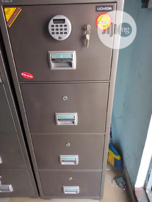 Imported 4 Drawer Electronic Digital Fireproof Safe | Safetywear & Equipment for sale in Lagos State, Yaba