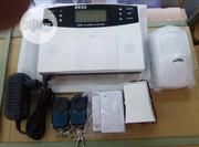 Burglar Sms Gsm Alarm System +PIR Detector Door Sensor Remote Kits | Safety Equipment for sale in Lagos State, Ikeja