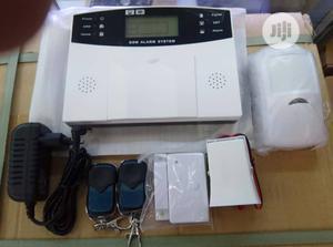 Burglar Sms Gsm Alarm System +PIR Detector Door Sensor Remote Kits | Safetywear & Equipment for sale in Lagos State, Ikeja