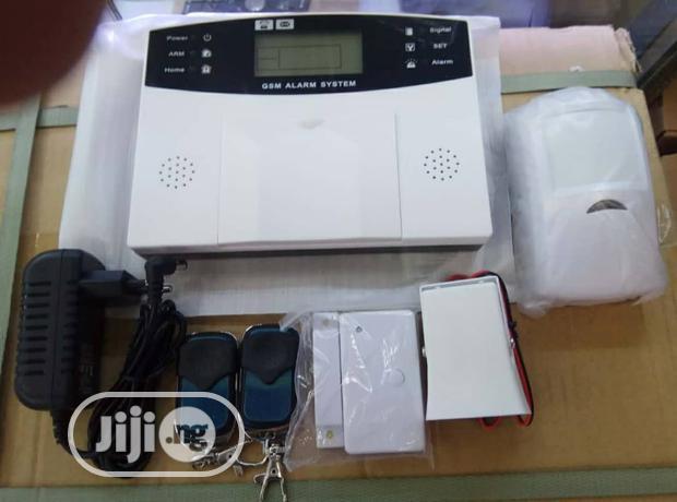 Burglar Sms Gsm Alarm System +PIR Detector Door Sensor Remote Kits